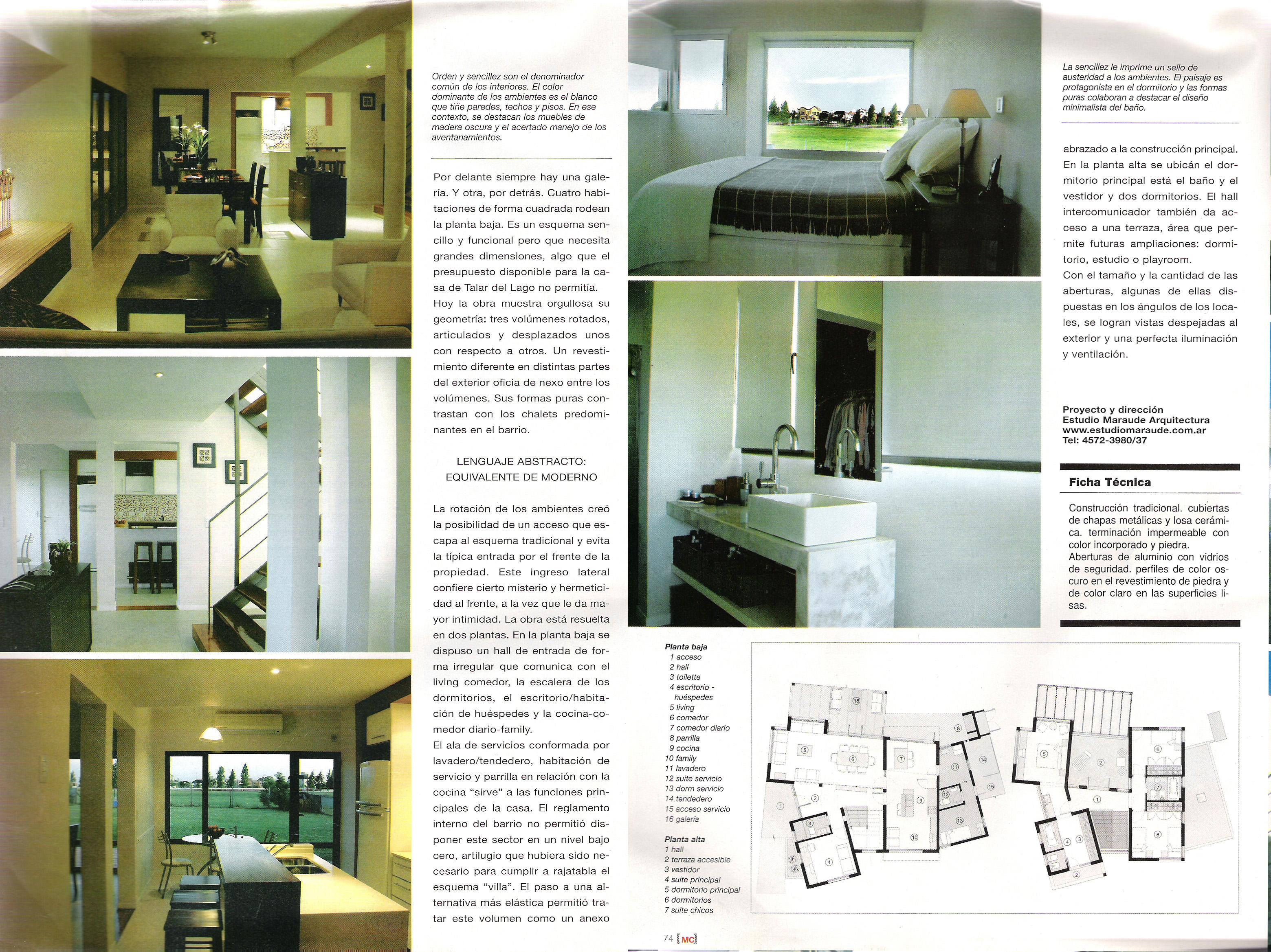 publicacion mujer country - Casa en Talar del Lago II nro 160 - hoja 3 y 4
